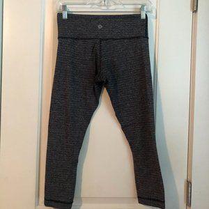 Lululemon speckled grey legging